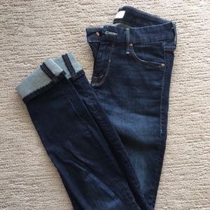 Mother the looker (no play) jeans, Size 24